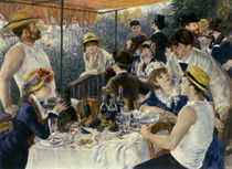 Renoir / Breakfast of the Rowers / 1881 by AKG  Images