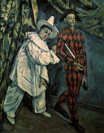 Cézanne, Pierrot und Harlekin/1888 von AKG  Images