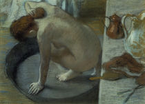 Degas / Woman washing herself / 1886 by AKG  Images