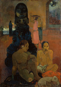 P.Gauguin / The Great Buddha / 1899 by AKG  Images