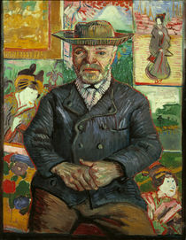 van Gogh / Portrait of Pere Tanguy /1887 by AKG  Images