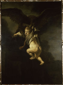 Rembrandt / Ganymede by AKG  Images