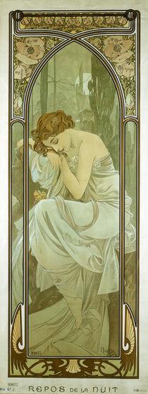 Mucha, Repos de la Nuit / 1899 by AKG  Images