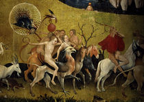 The Garden of Earthly Delights / Detail / H. Bosch / Triptych, 1490 - 1510 by AKG  Images