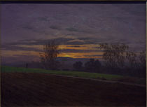 C.D.Friedrich, New Ploughed Field / Ptg. by AKG  Images