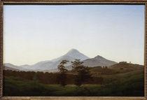 C.D.Friedrich, Bohemian landscape by AKG  Images