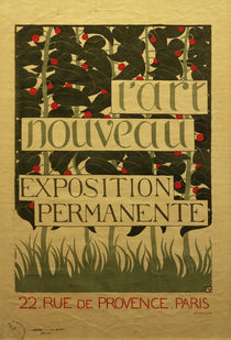 F.Vallotton, Poster for L'Art Nouveau by AKG  Images