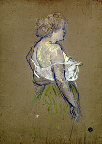 Toulouse-Lautrec, Lucie Bellanger / Paint./ 1896 by AKG  Images