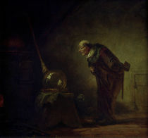 Spitzweg / The Alchemist /  c. 1850 by AKG  Images