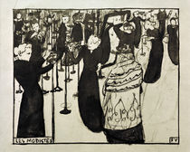 The Milliner / F. F.Vallotton / Sketch 1894 by AKG  Images