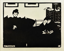 The Triumph / F. Vallotton / Woodcut 1898 by AKG  Images