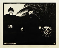 F.Vallotton, The Irreparable / woodcut by AKG  Images