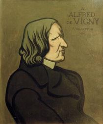 Alfred Comte de Vigny / Gem. v. Vallotton by AKG  Images