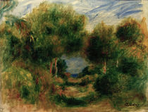Renoir / Exit from Forest / Painting by AKG  Images