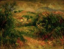 Renoir / Landscape near Cros-de-Cagnes by AKG  Images