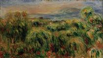 Renoir / Cagnes / Landscape / Painting by AKG  Images