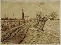 V. v. Gogh, Landschaft mit Weg u. Kopfweide von AKG  Images