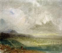 W.Turner, Das Rhônetal bei Sion von AKG  Images