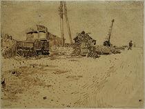 V. van Gogh, Lagergelände der Eisenbahn von AKG  Images