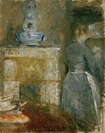 B.Morisot / In the Dining Room / painting by AKG  Images