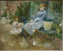 B.Morisot, The fairy tale, 1883 by AKG  Images