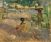 B.Morisot, Beach in Nice, 1882 by AKG  Images