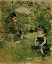 B.Morisot, Young woman and child, 1883 by AKG  Images