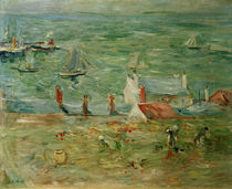 B.Morisot, The harbour of Gorey, 1886 by AKG  Images