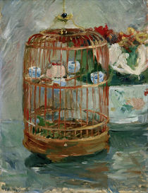 B.Morisot, The Cage, 1885 by AKG  Images