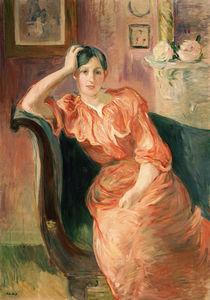 B.Morisot, Portrait of Jeanne Pontillon by AKG  Images
