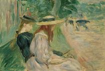 B.Morisot, Auf einer Bank Bois d. Boulogne von AKG  Images