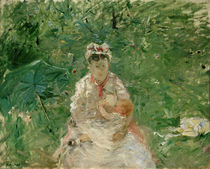 B.Morisot, Wet nurse and Julie Manet by AKG  Images