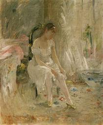 B.Morisot, Frau beim Ankleiden von AKG  Images