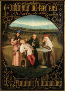 Cutting the Stone / H. Bosch /  c.1494 by AKG  Images