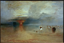 William Turner, Strand von Calais von AKG  Images