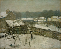 Sisley / Snowstorm in Marly by AKG  Images