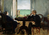 Edouard Manet, Interieur in Arcachon von AKG  Images