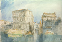 W.Turner, Venice: The Casa Grimani... by AKG  Images