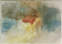 W.Turner, Brand der Houses of Parliament von AKG  Images