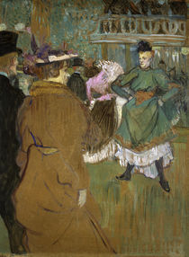 H.Toulouse-Lautrec, Quadrille Moulin-R. von AKG  Images