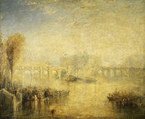 William Turner, Pont Neuf in Paris von AKG  Images