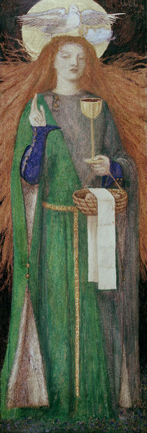D.G.Rossetti / Maiden of the Grail by AKG  Images