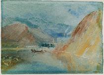 W.Turner, Die Eisenhütte von Quint by AKG  Images