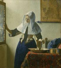 Vermeer / Woman with water jar /c. 1664/65 by AKG  Images