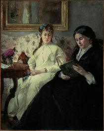 Berthe Morisot, Mother and sister by AKG  Images