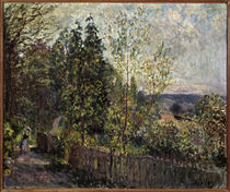Alfred Sisley, Forest way 1878–80. by AKG  Images