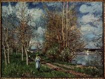 Alfred Sisley / Die kleinen Wiesen/ 1880 von AKG  Images