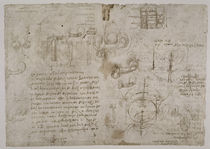 Leonardo / Koitus irrtüml. Studie u. a. f125r by AKG  Images