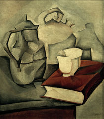 Juan Gris / The Book / Paint./ 1911 by AKG  Images