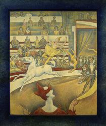 G.Seurat, Der Zirkus by AKG  Images